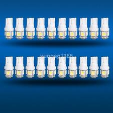 20x T10 5050 W5W 5 SMD 194 168 LED White Car Side Wedge Tail Light Lamp Bulbs UK