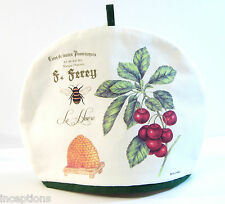 Alice's Cottage Cotton Tea Cozy Cherries Bee & Hive - NEW