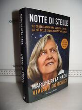 LIBRO Margherita Hack NOTTE DI STELLE Storie scritte nel cielo 6^ed.2011