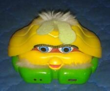 "2001 *** YELLOW SHELL FURBY *** McD 2"" TALL PLASTIC McDONALDS TIGER ELECTRONICS"