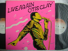 OTIS CLAY LIVE AGAIN / 2LP