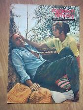 INGRID BERGMAN & ANTHONY QUINN on cover archive Magazyn F. 3/72 Polish magazine