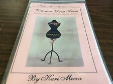 VICTORIAN DRESS FORM INCLUDING 2 BEAUTIFUL SILK RIBBON EMBROIDERY DESIGNS