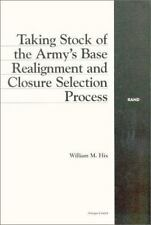 Taking Stock of the Army's Base Realignment and Closure Selection Process