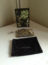 Gucci GG Green Blooms Key Case