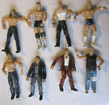 WWE Wrestling Figures Jakks Pacific 2000 2001 x8 Bundle Job Lot Hardcore Holly