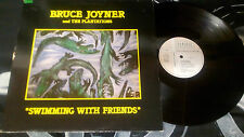 "Bruce Joyner And The Plantations ‎""Swimming With Friends"" LP - CL 0049 FR 1986"