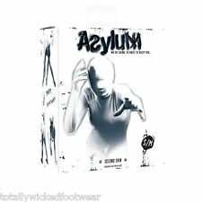 Asylum Second Skin - sm/med FULL HEAD & BODY SUIT white lycra