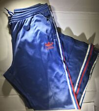 ADIDAS Mens XL Red White And Blue Track Pants Vintage Basically Perfect!
