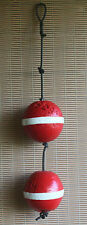 Authentic Beachcombed Key West Lobster Crab Trap Buoy Float Set #12