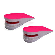 Height Increase Inserts / Insoles. Air Bubble Design. Pink