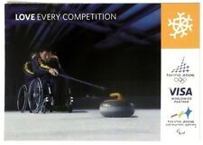 Cartolina Torino 2006 Paralympic Games VISA - Love Every Competition