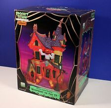 Lemax Spooky Town Halloween NIGHTMARE ON OAK ST - Exterior Lighted House BNIB