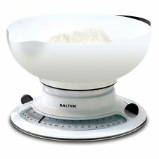 Salter Add & Weigh Baking Mechanical Kitchen Cooking Weighing Scale Scale New