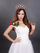 Tiaras And Crowns Golden Quinceanera King Pageant Princess Bride Queen Girls