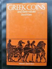 GREEK COINS AND THEIR VALUES - DAVID R SEAR - VOLUME 2 ASIA + AFRICA - 1979 TBE