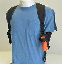 Gun Shoulder Holster for S&W M&P Shield with Double Magazine Pouch