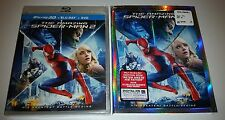 The Amazing Spider-Man 2 in 3d NEW Sealed Blu ray USA RELEASE with Slip Cover