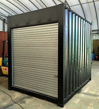 10ft / 3m long approx 9'6 High shipping container, storage shed with roller door