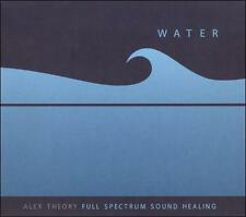 Alex Theory CD Water  Full Spectrum Sound Healing - Electronic Ambient