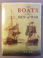 THE BOATS OF MEN-OF-WAR - W.E. May - 1999