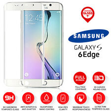 Samsung Galaxy S6 Edge Full Curved Tempered Glass LCD Screen Protection Clear