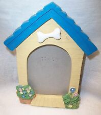 """Doghouse Photo Stand Along Frame 3"""" X 5"""" Photo New"""