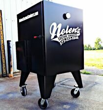 Insulated BBQ Vertical Reverse Flow Competition Smoker Non Rotisserie
