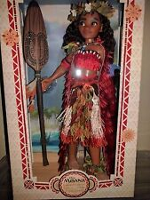 """Disney Store Moana Limited Edition Doll  17"""" Mint Condition"""