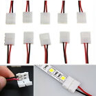 10x PCB Connector Cable 2 Pin LED Strip Connector 3528/5050 Adapter Pratical