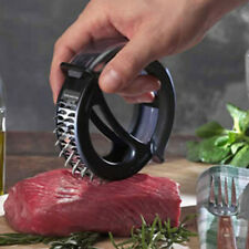 DIY Circle Sharp Meat Tenderizer Pounder Needle Knife Stainless Kitchen Tools