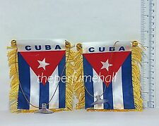 Cuba Flag Cuban Flag Mini Banner Car rear view mirror glass window cubano