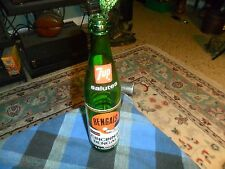 Vintage 1973 7UP CINCINNATI BENGALS Riverfront Stadium COMMEMORATIVE BOTTLE VG !