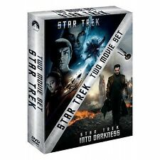 Star Trek & Star Trek Into Darkness Double Boxset DVD NEW and SEALED