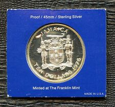 1975 Jamaica 10 Dollar Coin 'Sir Henry Morgan' (42.8 Grams .925 Silver)