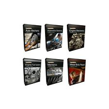 Mechanics Auto Mechanic Course Manual Collection Bundle