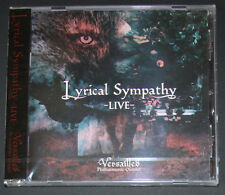 Versailles - Lyrical Sympathy Live - Japan CD Visual Kei Lareine Hizaki Kamijo