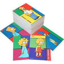 THE SIMPSONS - Downunder Trading Cards Common Set (100) by Tempo #NEW