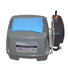 Blue Diamond ET60-A Septic/ Pond Air Pump With Alarm COMPATIBLE TO HIBLOW HP-60