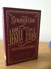 THE STRANGE CASE OF DR JEKYLL & MR HYDE LEATHER BOUND BOOK