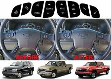 Replacement Steering Wheel Button Stickers For 2003-2011 GM Vehicles New USA