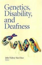 Genetics, Disability, and Deafness-ExLibrary