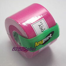 1 roll Pink 5m x 5cm Kinesiology Muscle Care Tape Sports Taping Method Waist