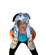 DALMATION PLUSH FURRY ANIMAL HAT WITH LONG PAWS