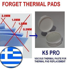 K5-PRO gummy thermal paste grease PS3 CECHAxx RAM thermal pad replacement 20g