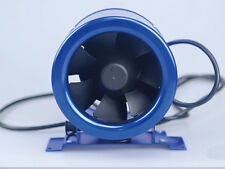 "6"" Inline Duct Fan w/ Speed Controller - Exhaust Blower Six Inch powerful 300CFM"