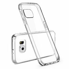 Galaxy S6 Edge Case Rubber Clear Case cover for Sumsung S6 edge / G9250