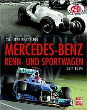 Fachbuch Mercedes-Benz Renn- und Sportwagen seit 1894, Silberpfeile, REDUZIERT