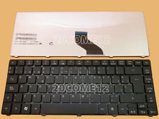 For Acer Aspire 4736Z 4736ZG 4738G 4738Z 4738ZG Keyboard Teclado Spanish Bk