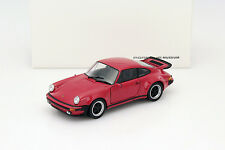 Porsche 911 (930) Turbo Baujahr 1975 rot 1:24 Welly